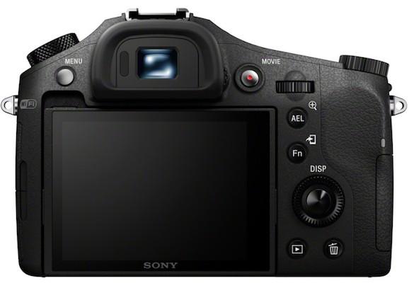 Sony DSC-RX10 Cyber-shot Digital Camera Back