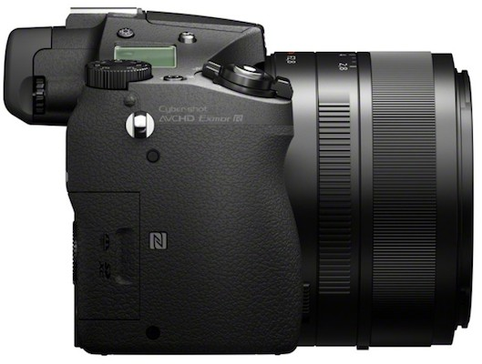 Sony DSC-RX10 Cyber-shot Digital Camera Back Left