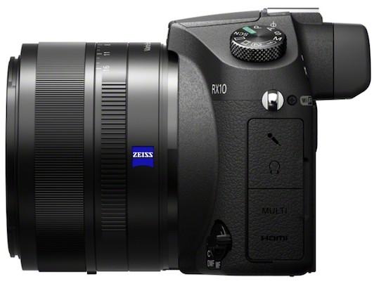 Sony DSC-RX10 Cyber-shot Digital Camera Right