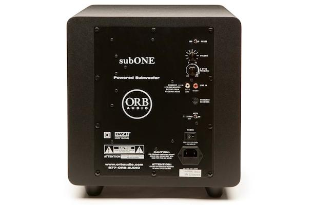 Orb Audio subONE Back