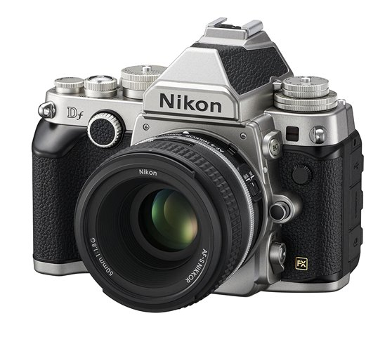 Nikon Df Digital SLR Camera with lens