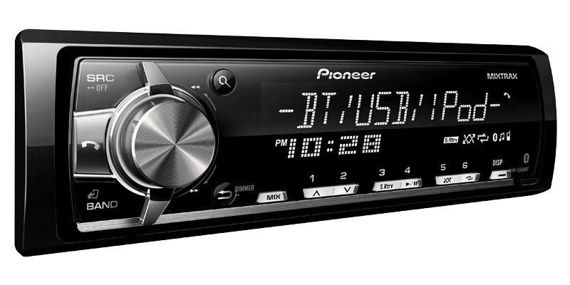 Pioneer Mvh-x560bt And Mvh-x360bt Head Units
