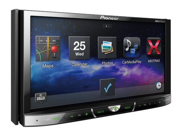 Pioneer Avh-x In-dash Dvd Head Units