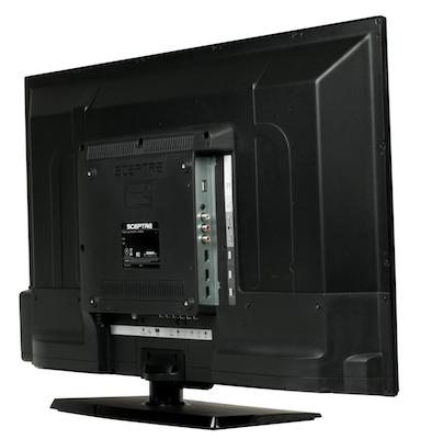 Sceptre X405BV-FHDR LED HDTV - back