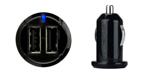 Scosche revolt 12w + 12w USB Car Charger