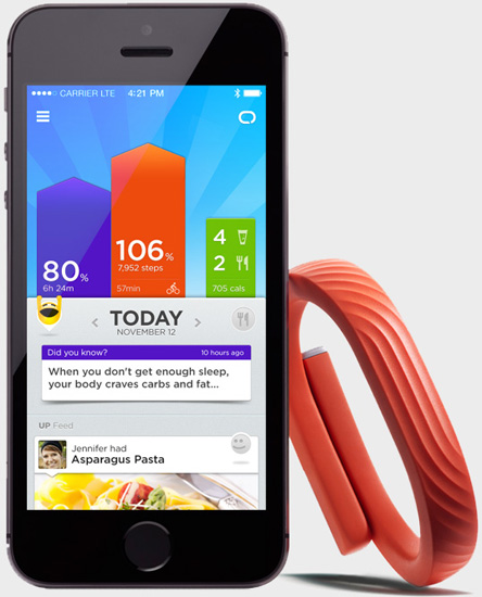 Jawbone UP24 Activity Tracking Wristband