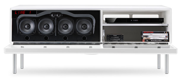 Geneva Model XXL Sound System Open