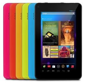 Ematic EGQ307 Tablet Colors