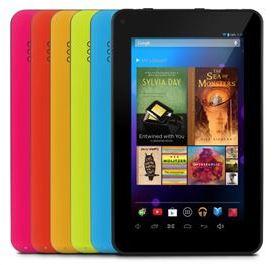 Ematic EGQ307 Tablet Colors