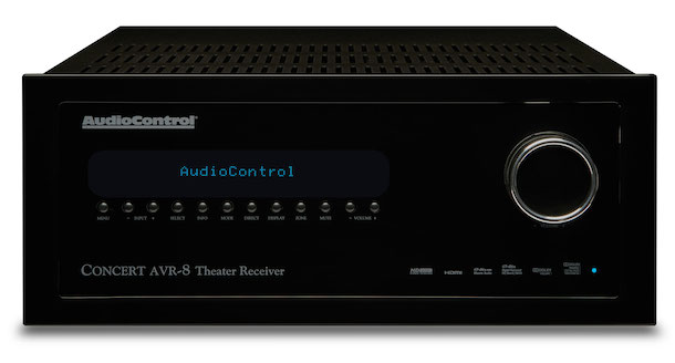 AudioControl Concert AVR-8 4K Home Theater Receiver Front