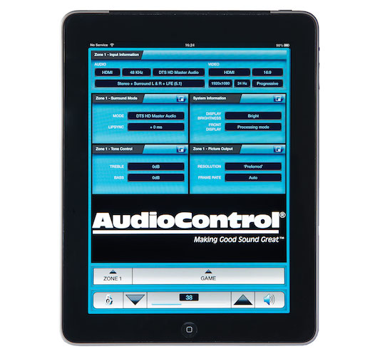 AudioControl iPad App