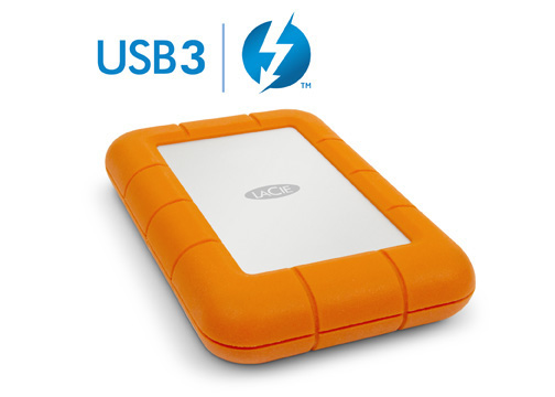 LaCie Rugged 2TB Hard Drive
