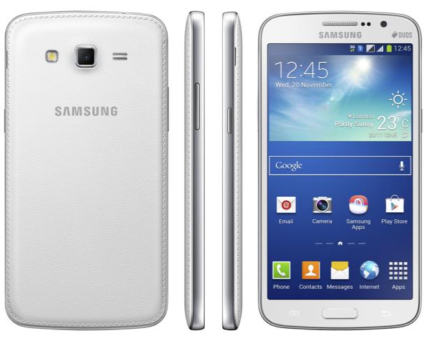 Samsung Galaxy Grand 2 Smartphone Sides