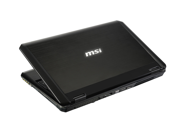 MSI GT60 3K Notebook Back
