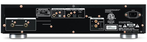 Marantz SA8005 Super Audio CD Player / DAC - ecoustics com