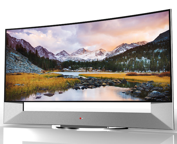 LG 105UB9 Curved Ultra HD TV