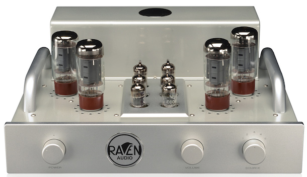 Raven Audio Nighthawk Integrated Tube Amplifier Front