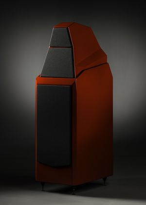 Wilson Audio Sasha Series-2 Loudspeakers red angled