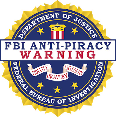 FBI Anti Piracy Seal