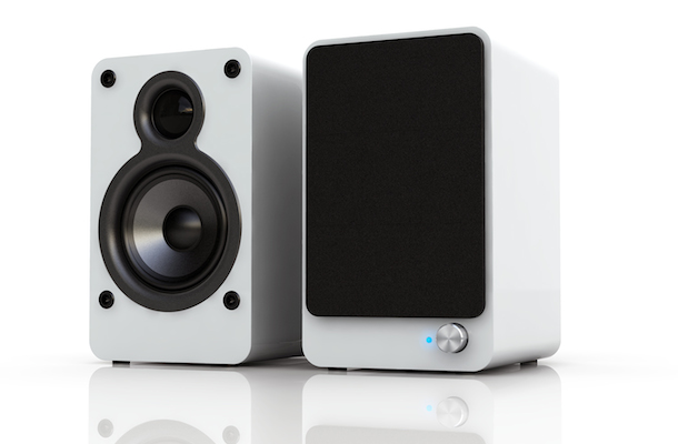 Satechi AirBass Active Bluetooth Speakers White