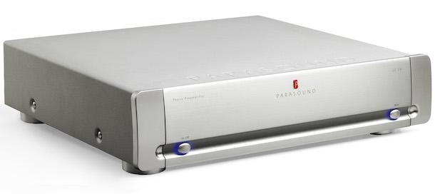 Parasound Halo JC 3+ phono preamp silver