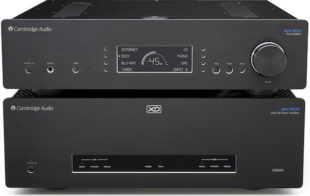 Cambridge Audio Azur 851E Preamplifier and 851W Power Amplifier
