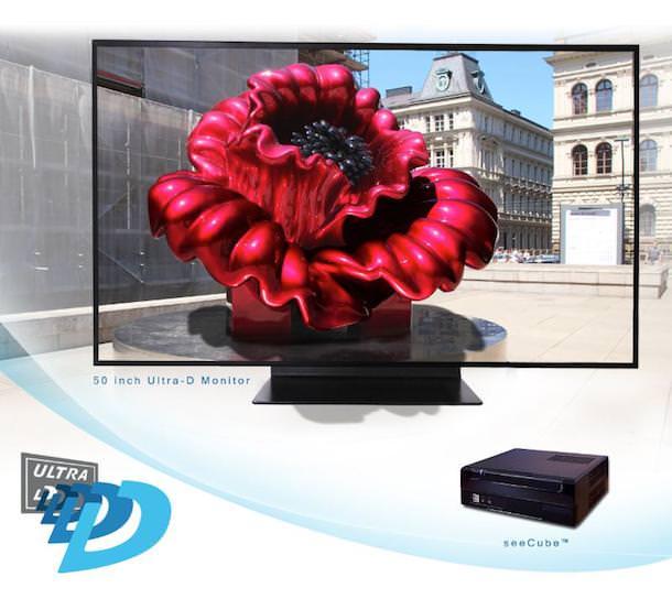 Glasses-Free 4K 3D TV