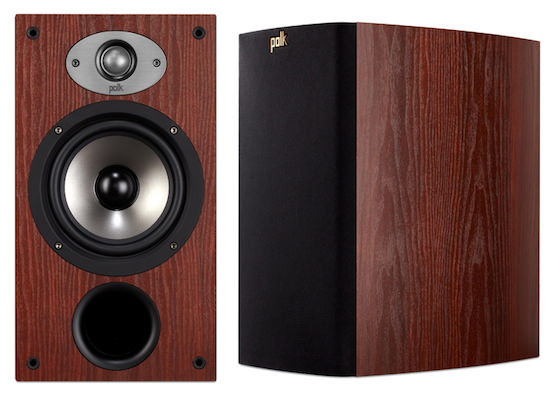 Polk TSx220B Bookshelf Speakers