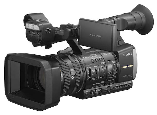 Sony HXR-NX3 Professional Handheld Camcorder