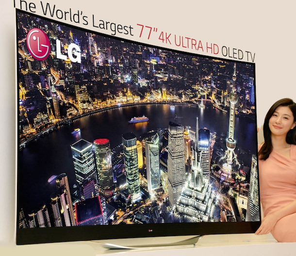 LG 77EC9800 Curved 4K OLED TV