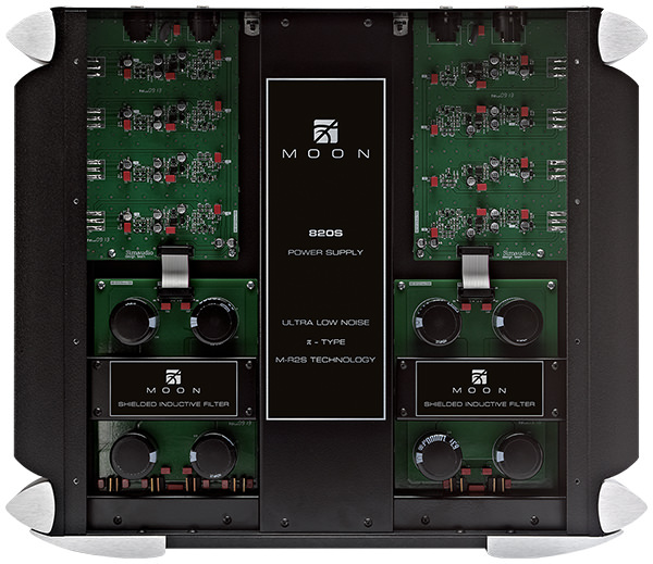 Simaudio MOON 820S Power Supply Inside