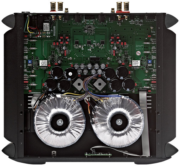 Simaudio Moon 760A Power Amplifier Inside