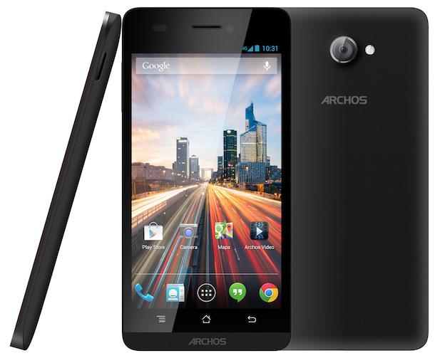 ARCHOS Helium 45 and 50 Smartphones