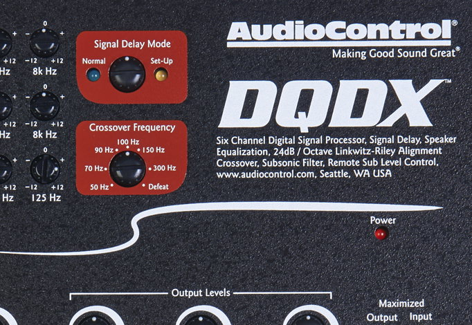 AudioControl DQDX Six-Channel Digital Signal Processor