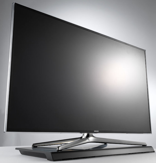 Samsung HW-H600 Sound Stand under TV
