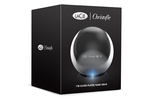 LaCie Christofle Sphere 1TB Hard Drive Package