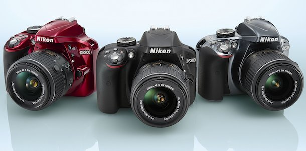 Nikon D3300 Colors