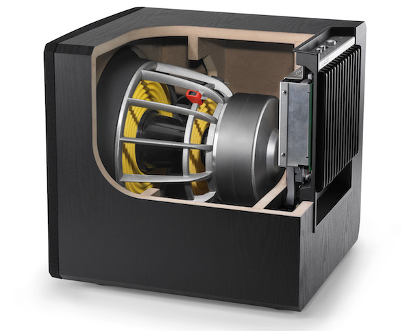 JL Audio E-Sub e112 Subwoofer Inside