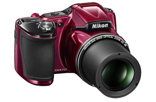 Nikon COOLPIX L830 Digital Camera Red