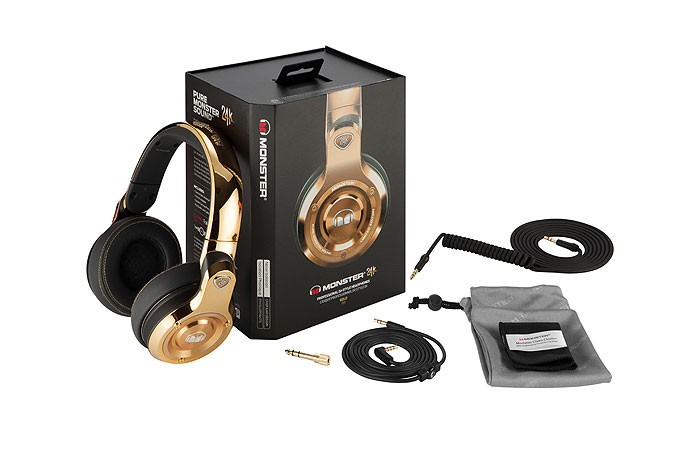 Monster 24K Headphones Box