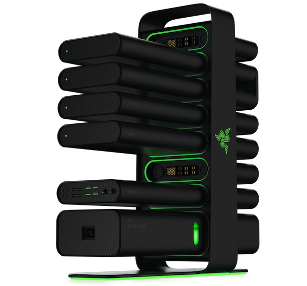 Razer Project Christine Modular Desktop PC Back