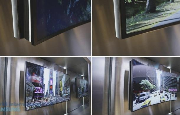Samsung Bendable UHD TV