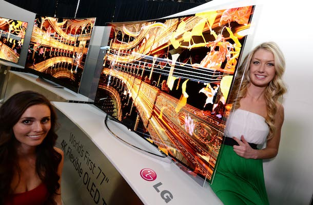 LG Flexible OLED TV