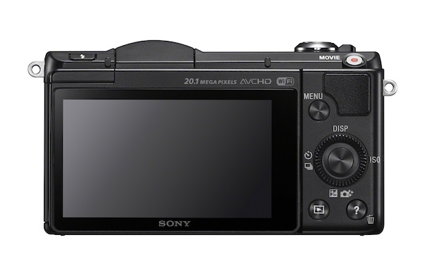 Sony ILCE-5000 Interchangeable Lens Camera Back