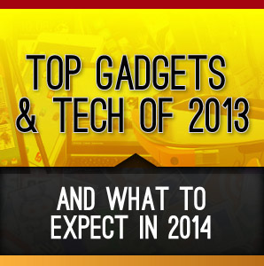 Top Gadgets Tech 2013