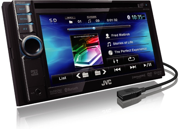 New Driver: JVC KW-NT500HDT Car Navigation