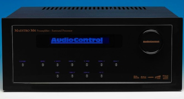 AudioControl Maestro M4 HD Surround Preamplifier