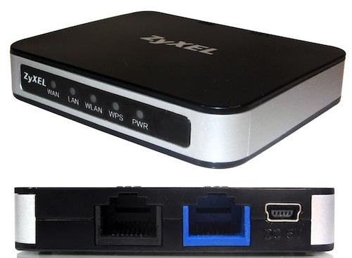 ZyXEL MWR102 Portable WiFi Router - ecoustics com