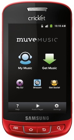 CRICKET COMMUNICATIONS, INC. MUVE MUSIC