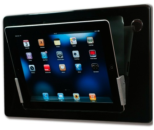 Bracketron Iroom Idock Motorized In Wall Ipad Mount